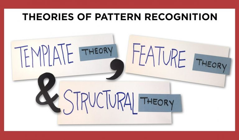 Cognitive Neuroscience – Pattern Recognition